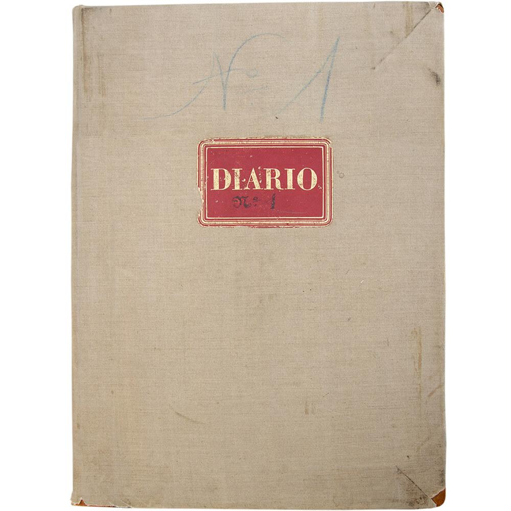 Livro Diário nº 1 (07.07.1896 – 30.06.1902) – Documento contabilístico