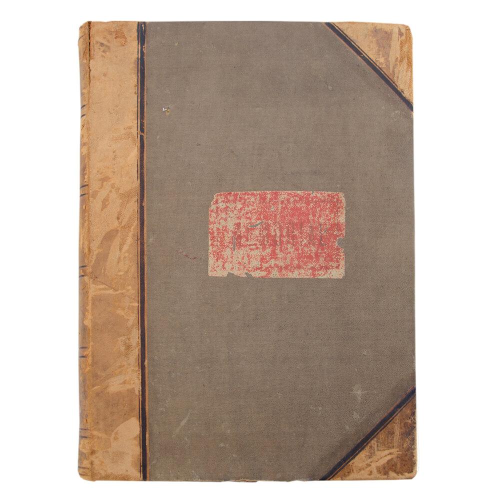 Memorial (03.01.1901 – 31.12.1903) – Documento contabilístico