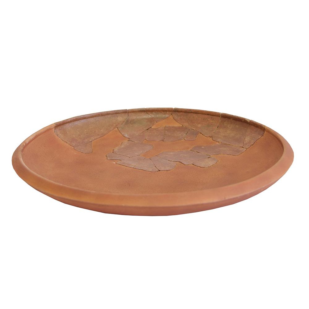Prato (Cerâmica de engobe vermelho não vitrificável)