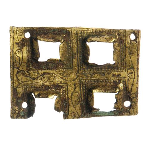 Placa de revestimento de cruz