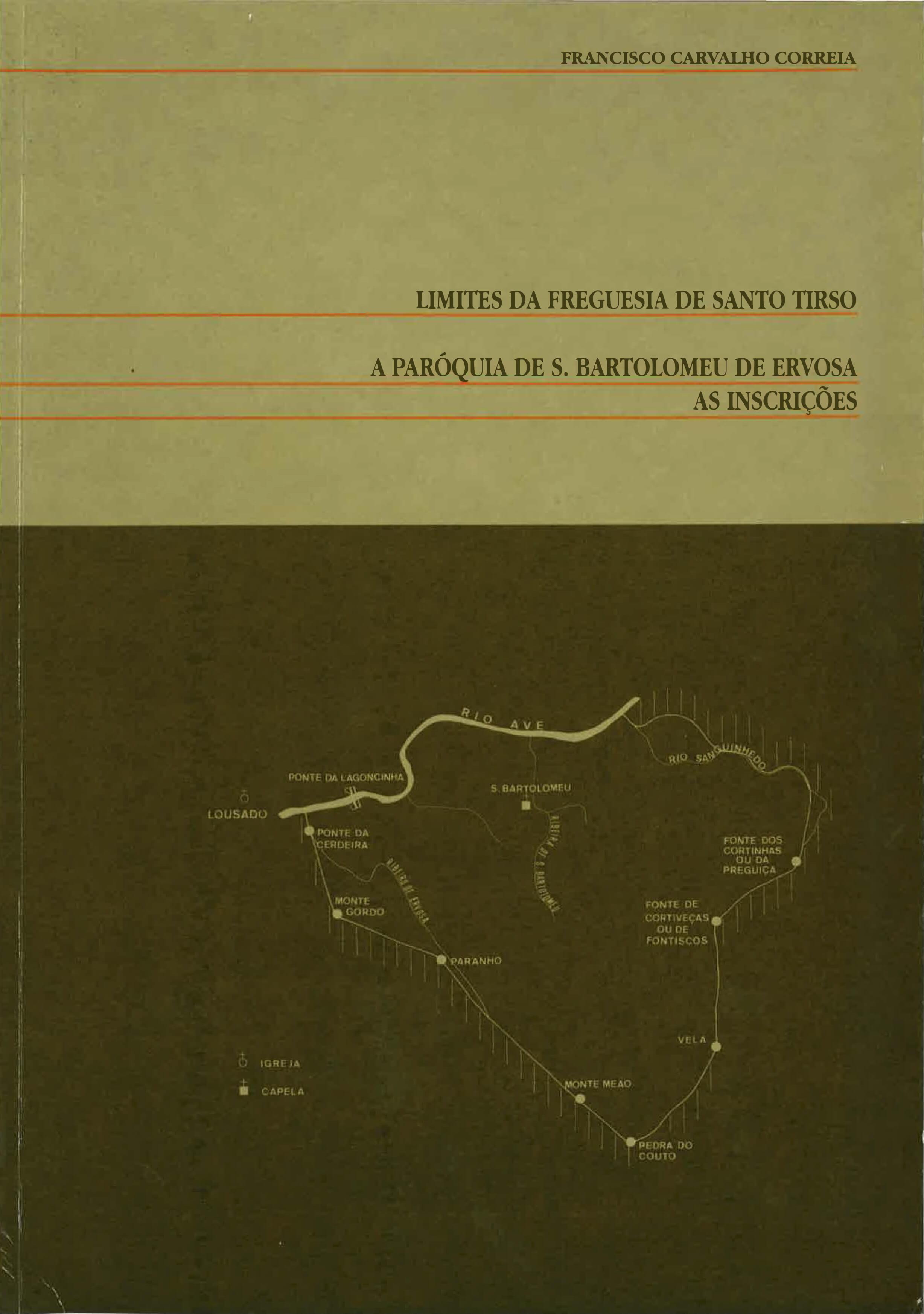 Limites da Freguesia de Santo Tirso